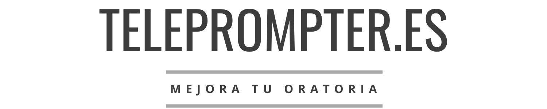 Teleprompter | Mejora tu oratoria